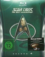 Star Trek Next Generation Season 4 Blu-Ray NEU OVP Sealed Deutsche Ausgabe