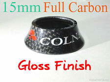 15mm COLNAGO 3K Full Carbon Cone Spacer headset top bike cover stem GLOSS FINISH