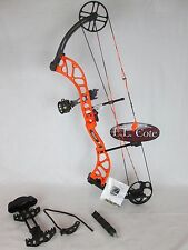 Bear Wild Compound Bow Right Hand 70# Blaze Orange Ready to hunt package