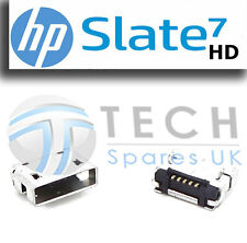 HP SLATE 7 HD Micro USB Replacement DC Charging Socket Data Port Connector Plug