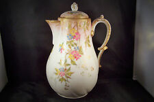 Antique Martial Redon Hand Painted Porcelain Limoges France 1890s Coffee Pot WOW