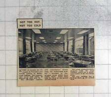 1959 New Canteen At Ferranti Oldham Hollinwood Factory