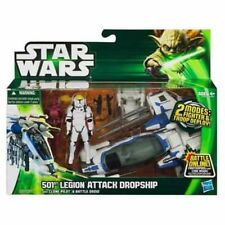Star Wars 501st Legion Dropship vehículo + Clon Piloto Y Battle Droid