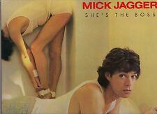"MICK JAGGER - PROMO LP ""SHE'S THE BOSS"" - The Rolling Stones"