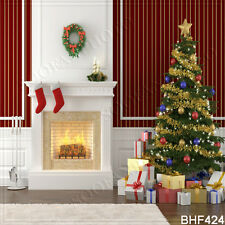 Christmas 10'x10' Computer/Digital Vinyl Scenic Photo Background Backdrop BHF424