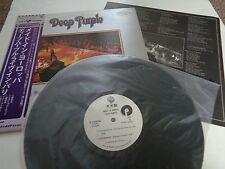 DEEP PURPLE MADE IN EUROPE  JAPAN WHITE LABEL PROMO /SAMPLE COPY