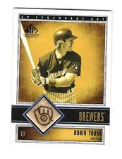 2003 UD SP LEGENDARY CUTS ROBIN YOUNT GAME USED BAT MILWAUKEE BREWERS HOF RARE