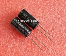 10PCS 1000uF 25V Electrolytic Capacitor 105°C 10x20mm
