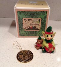 Santa's Helpers Pocket Dragons Real Musgrave New in Box Figurine Ornament