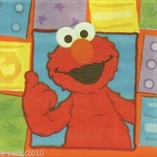 SESAME STREET Elmo Loves You LARGE NAPKINS (16) ~ Birthday Party Supplies Dinner