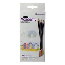 Derwent Academy matite a colori - 12 COLORI ASTUCCIO IN CARTONE-colorazione per adulti