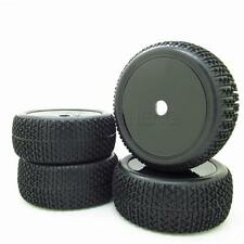 Black 1/8 Scale RC Off Road Car Buggy Racing Tires Tyre and Wheels 4pcs