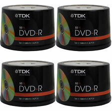 200 pack TDK Gold Series DVD-R 4.7Gb 16X Blank Recordable Discs Spindle