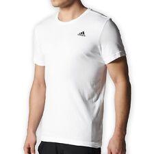 adidas Essentials Herren Sport Freizeit T-Shirt M Tee weiss NEU NEW OVP