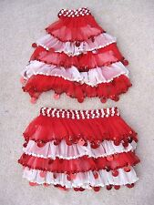 National Pageant Dance Tap Christmas Wear Glamour Competition Costume Child 6-7