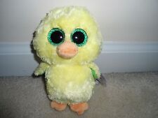 Ty, Nugget Beanie Boo,New 2017 Exclusive Easter Chick.Very Cute/Whimisical. TP'd