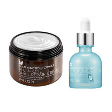 [MIZON] All In One Snail Cream 120ml [Super Size] + Hyaluronic Acid 100 30ml