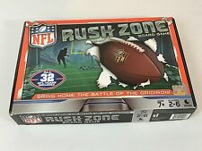 New NFL Rush Zone Board Game -Fully Customizable Football Dice Game Kids/Adults