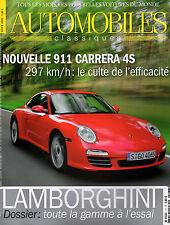 REVUE MAGAZINE AUTOMOBILES CLASSIQUES N°177 09/2008 PORSCHE 911 MASERATI LOTUS