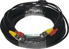 Video+Power Combo Premade Cable for CCTV Security Camera, 100 FT, Pack of 4