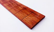 "Bubinga guitar fretboard, fingerboard 25.34"" Martin acoustic slotted R16"""