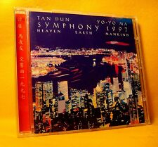 CD Tan Dun - Yo-Yo Ma Symphony 13TR 1997 Classical Contemporary RARE !