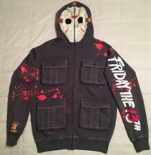 2009 Jason Voorhees Ecko Unltd Hoodie XS Friday the 13th mask sweater t-shirt