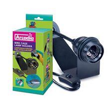 Arcadia - Support de lampe cage oiseau (avec Vis) - E27 Version pour