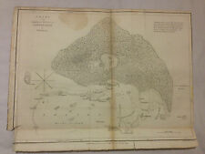 Original 1799 map of Tongataboo, Thomas Foot Capt J Wilson