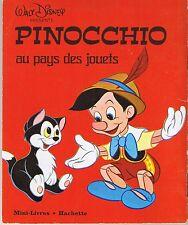 Pinocchio au pays des jouets * mini livre Hachette Walt DISNEY La boîte à images