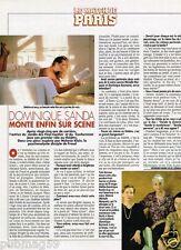 Coupure de Presse Clipping 1993 (1 page) Dominique Sanda