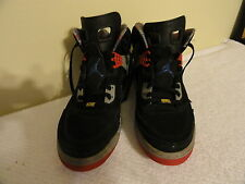NIKE AIR JORDAN Spiz'ike Black/Cement Grey/Red ~ 315371 062 Size 13