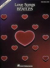 Love Songs of the Beatles (Piano/Vocal/Guitar Artist Songbook) (Pvg), Beatles, T