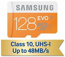 GENUINE SAMSUNG EVO 128GB CLASS 10 48MB/S MICRO SDXC SD MEMORY CARD For S7 Edge