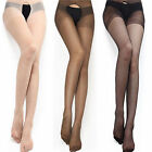 Sexy Women Open Crotch Crotchless Sheer Pantyhose Stockings Tights Socks