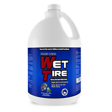 Wet Tire High Gloss Tire Shine - Tire Dressing & Protectant, 1 Gallon