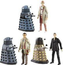 "DOCTOR WHO - Doctor & Dalek 5"" Exclusive Wave 2 Figure Assortment Set (3) #NEW"