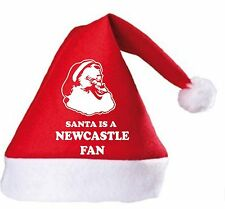 Santa is a Newcastle Fan Christmas Hat.Secret Santa Gift