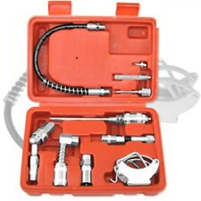 Grease Gun Lubrication Aid Kit Zerk Fittings Lube Attachments Needle Flex Hose