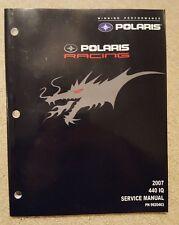 2007 Polaris IQ 440 OEM service manual, NOS, 9920463