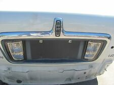 LINCOLN LS 2003 2004 2005 2006 CHROME REAR LICENCE PLATE BRACKET WITH LIGHTS