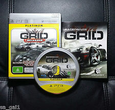 Race Driver GRID Reloaded Platinum (Sony PlayStation 3, 2008) PS3 - FREE POSTAGE
