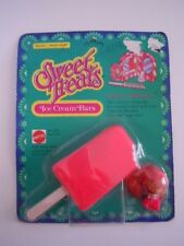 "VINTAGE SWEET TREATS "" CHERRY DELICIOUS ""  KIDDLE ICE CREAM BARS MATTEL 1978  L2"