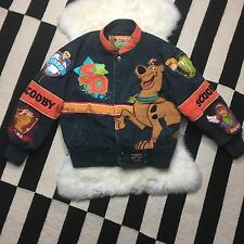 JH Design Kids Scooby Doo Jacket Embroidered Size S 5-6