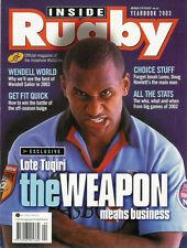 À l'intérieur de rugby 2003 super 12 info Australie YEARBOOK