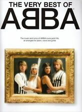 THE VERY BEST OF ABBA MUSIC score AND LYRICS
