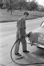Negativ-Büchslen-Schweiz-Carrosserie Enzler-Werkstatt-Tankstelle-um 1960-9