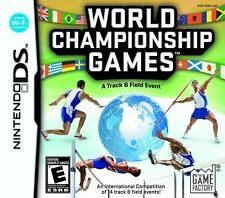World Championship Games: A Track & Field Event - Nintendo DS [Nintendo DS]
