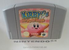 NINTENDO 64 - KIRBY 64 THE CRYSTAL SHARDS ( CART ONLY )