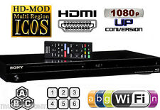 SONY S7200 2D/3D 2K/4K Wi-Fi Multi Zone All Region Code Free DVD Blu Ray Player